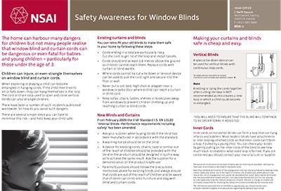 Safety Awareness Information
